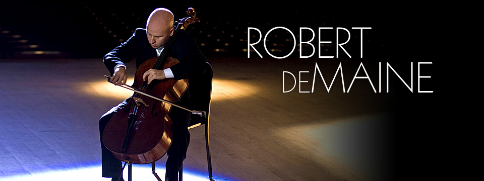 Robert deMaine, Concert Cellist